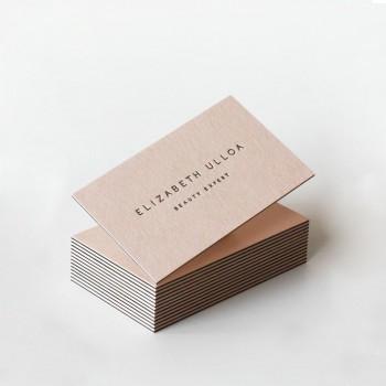 Letterpress咭