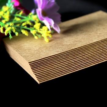 牛皮紙卡(400g)