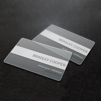 透明PVC咭片